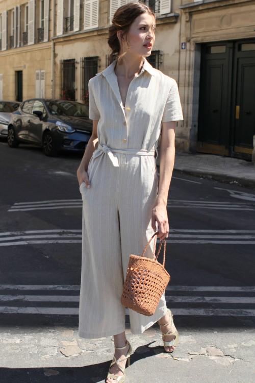 Carmen Linen Jumpsuit