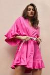 Robe en soie à décolleté délicat 2