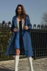 Trench-coat moderne en jean 1