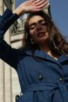 Trench-coat moderne en jean 3