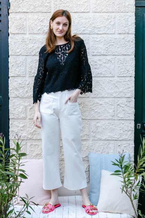 Pantalon Cookie blanc