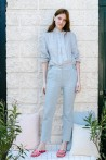 Blue blouse produced in cotton 1
