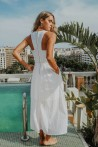 sleeveless dress with English embroideries 2