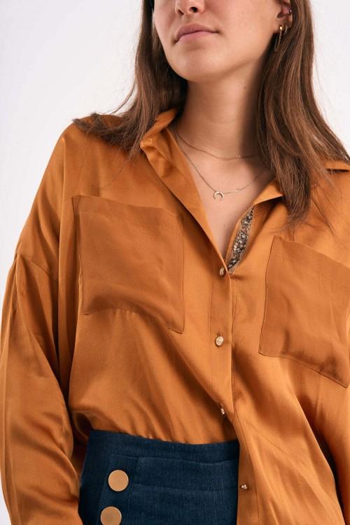 Mina Ochre Shirt