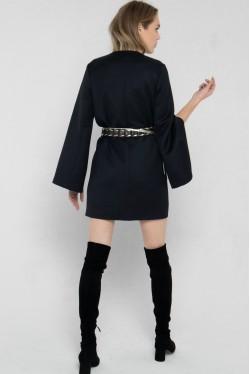 black cowhide leather belt 6