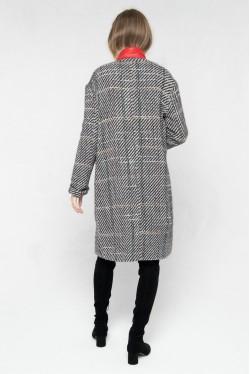 Manteau tendance hiver 2021 à carreaux en laine créé par Koshka Paris 3