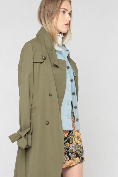 Emilia Trench-coat