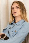 Chemise saharienne à poches plaquées coupe décontractée Koshka Paris 5