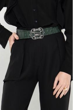 Pantalon noir fluide 1