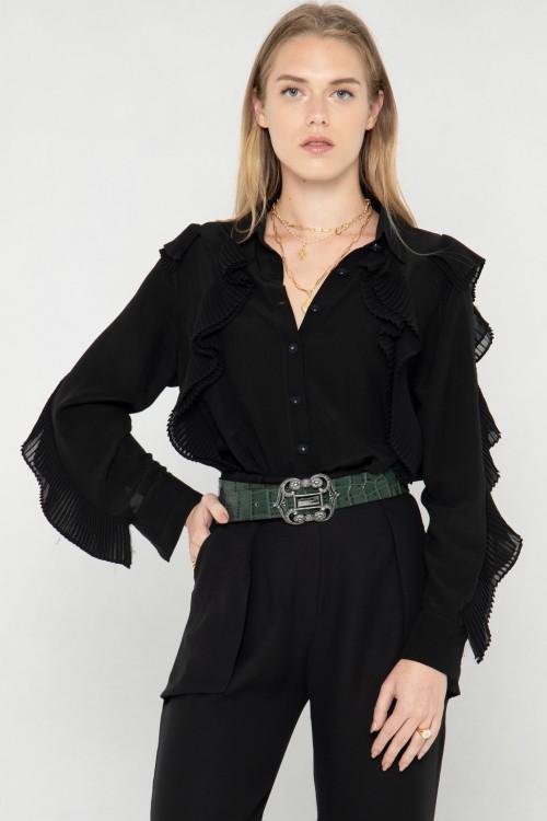 Pantalon noir fluide 3