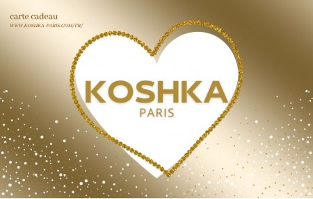 Koshka Paris gift card Valentine's Day